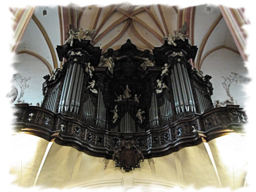 Englerov organ v Dóme sv. Mórica